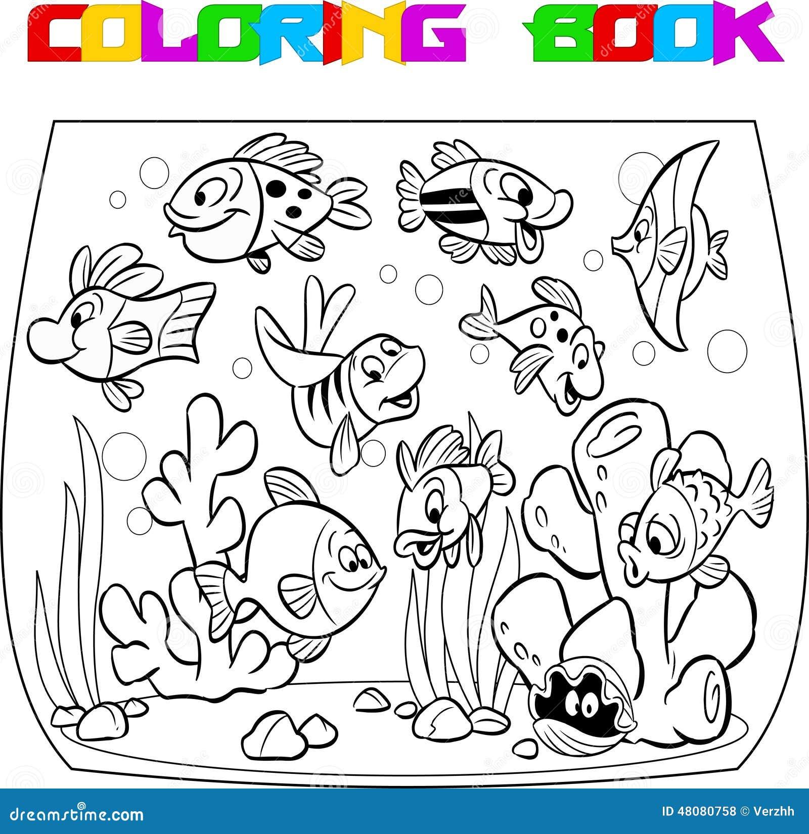 Peixes No Aquario Ilustracao Do Vetor Ilustracao De Agua 48080758