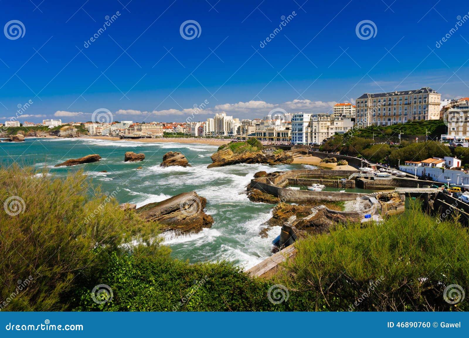 Pejzaż miejski Biarritz