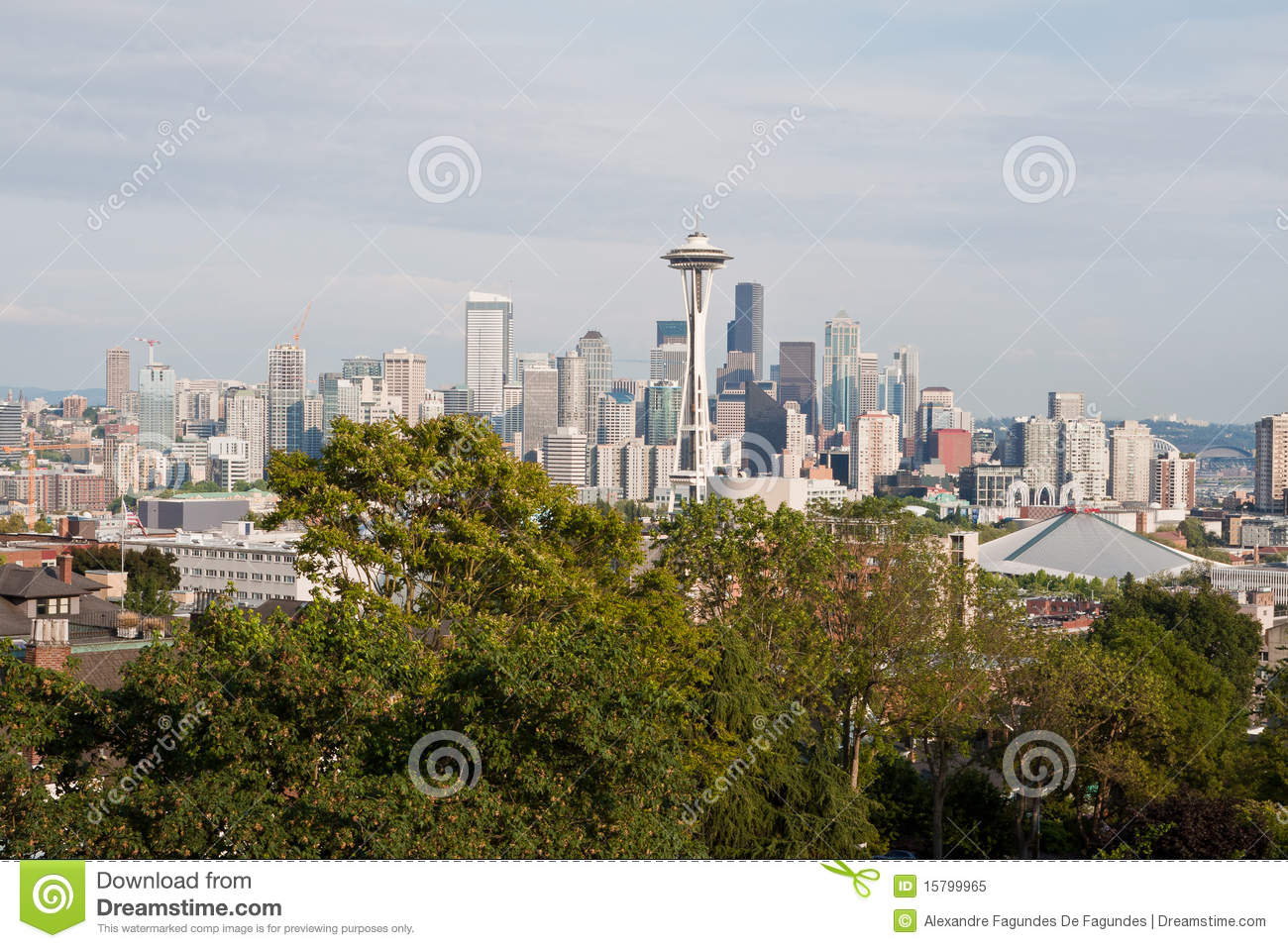 Pejzaż miejski Seattle
