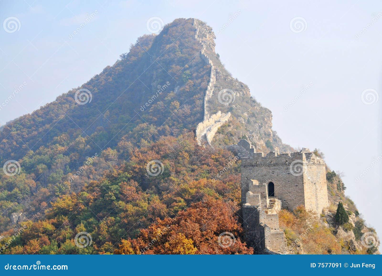 Peking, China, Simatai Chinesische Mauer