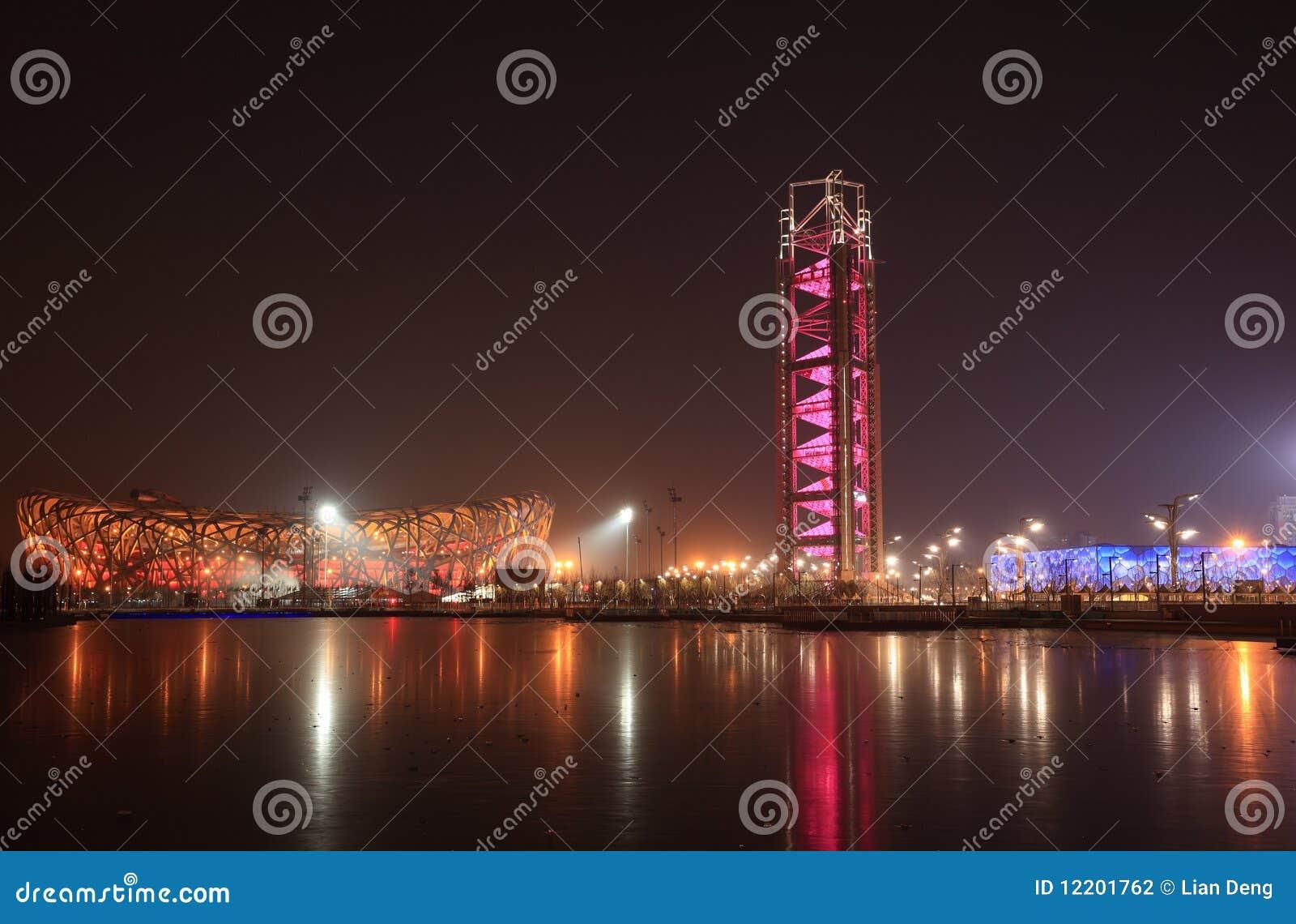 Peking-Nachtszene