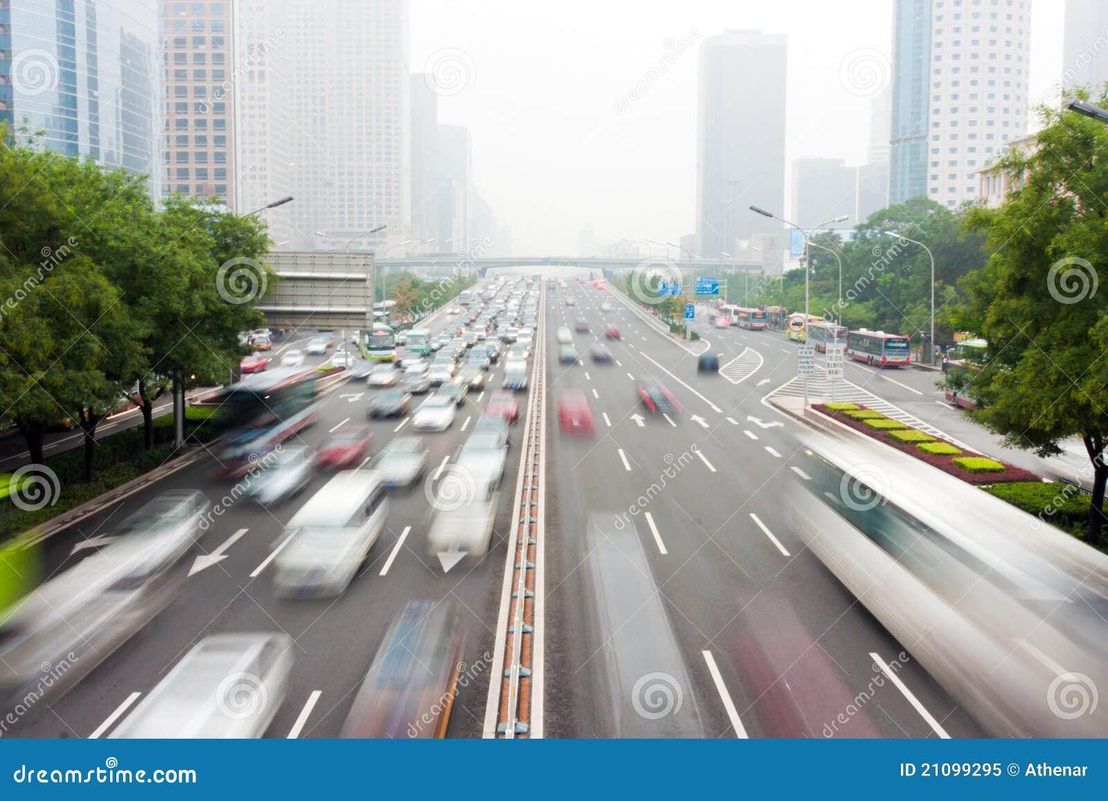 Pekings städtischer Verkehr