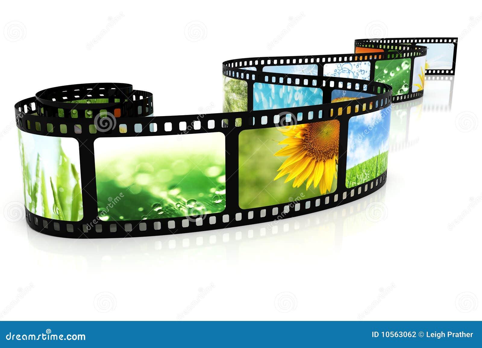 Película com imagens