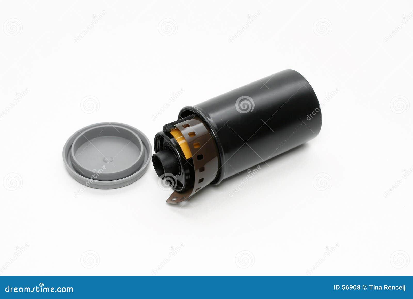 Película da câmera, isolada