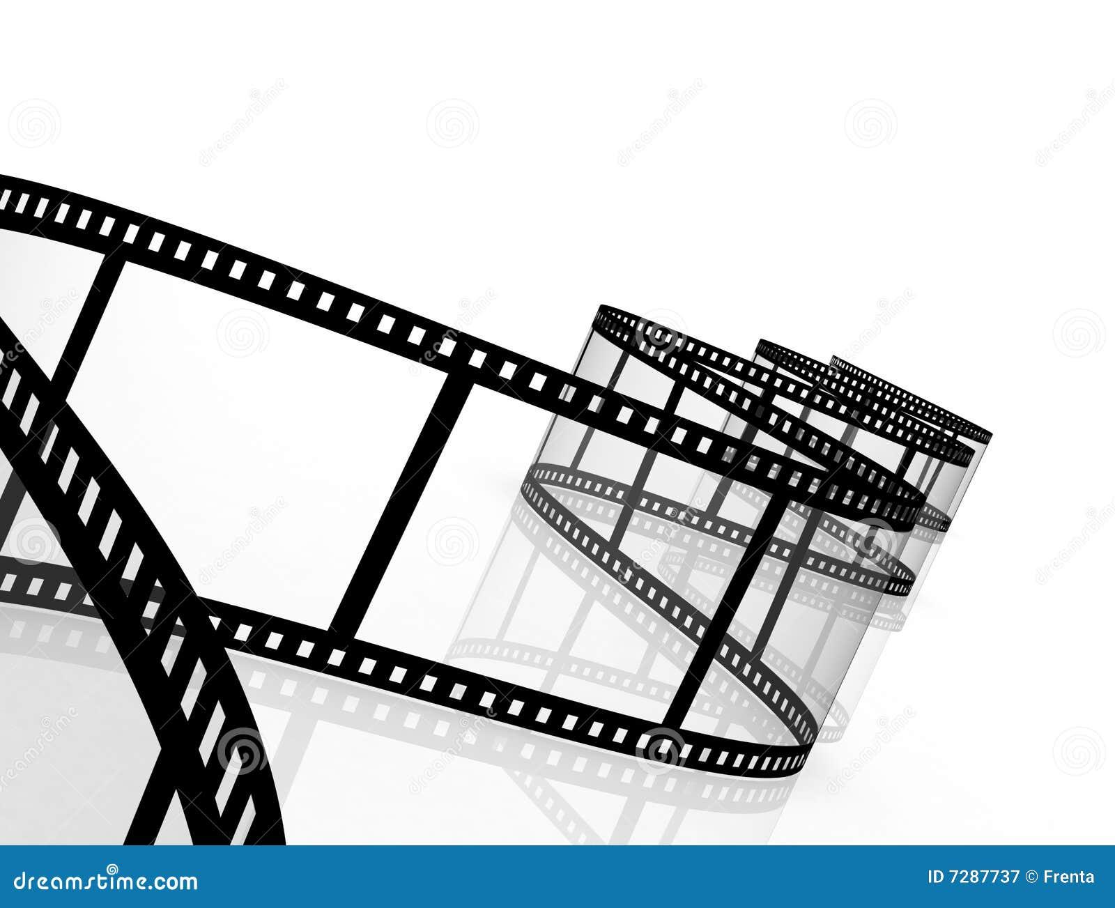 Película fotográfica abstracta 3d