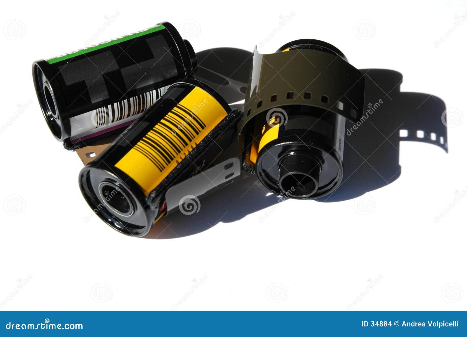 Download Películas de 35m m foto de archivo. Imagen de creatividad - 34884