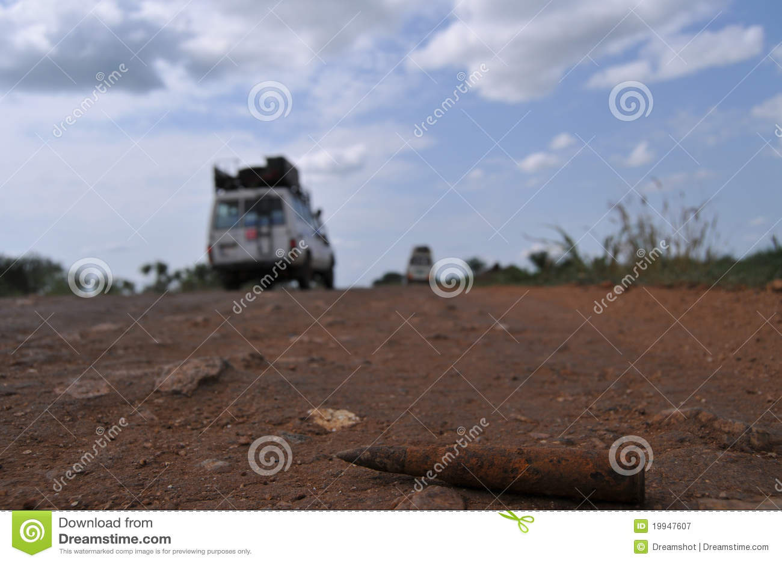 Peligro en el camino