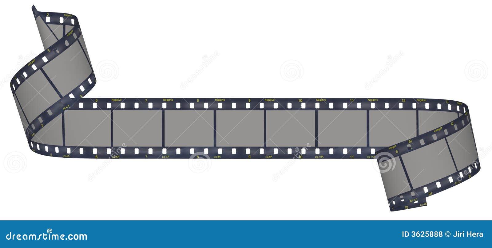 Pellicola E Striscia Della Macchina Fotografica Illustrazione Di Stock Illustrazione Di Filigrana Nero 3625888