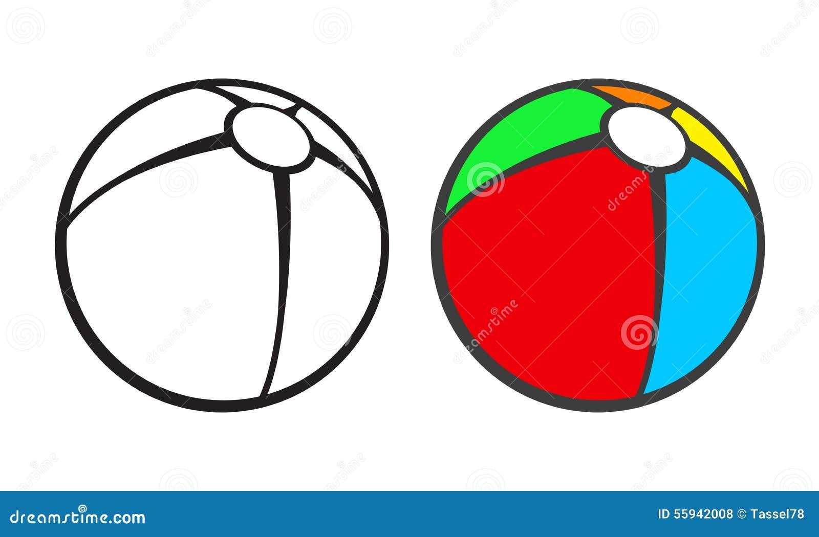 Magnífico Bola Para Colorear Modelo - Ideas Para Colorear ...