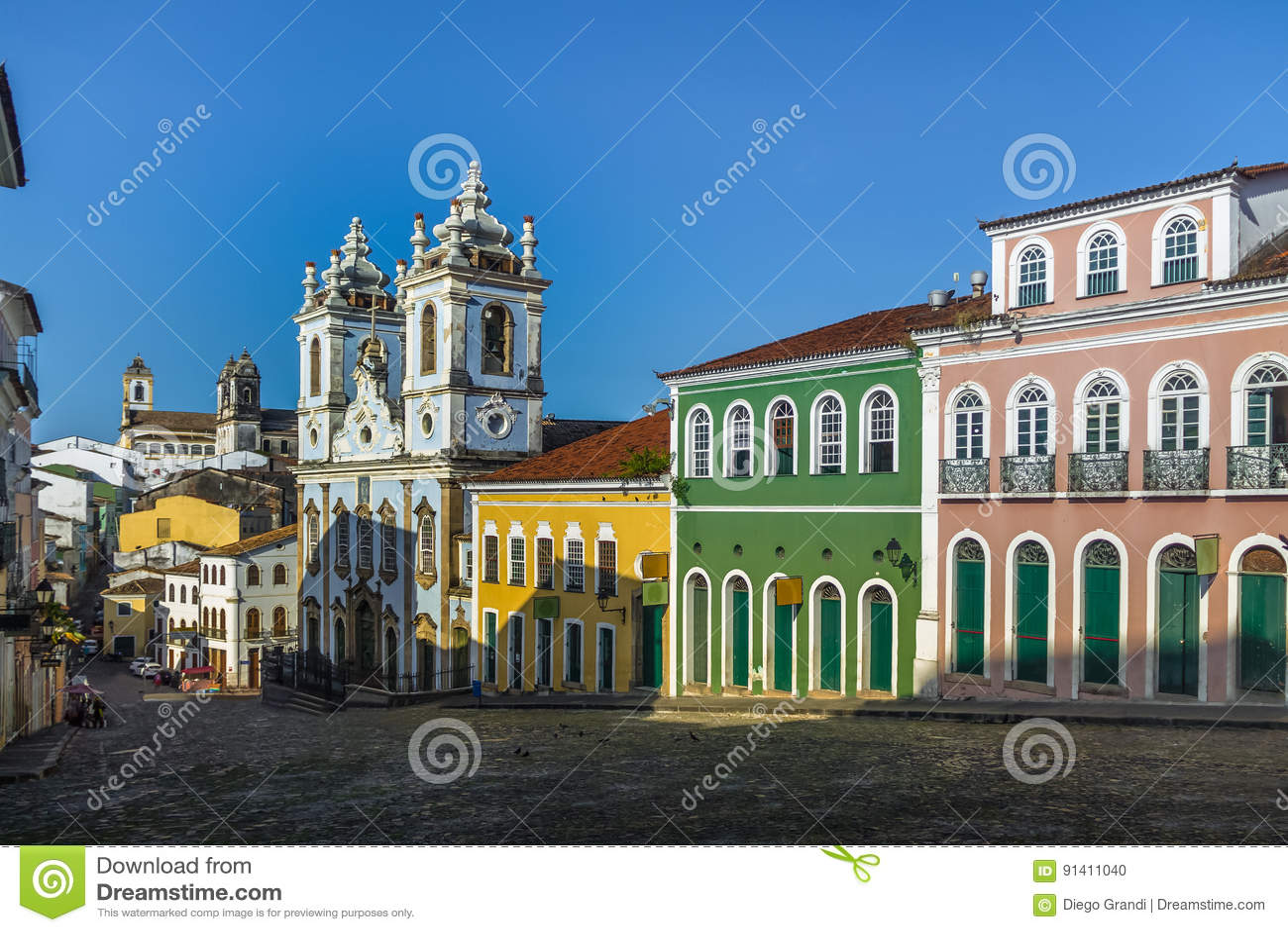 Pelourinho - Salvador, Bahia, Brazilië