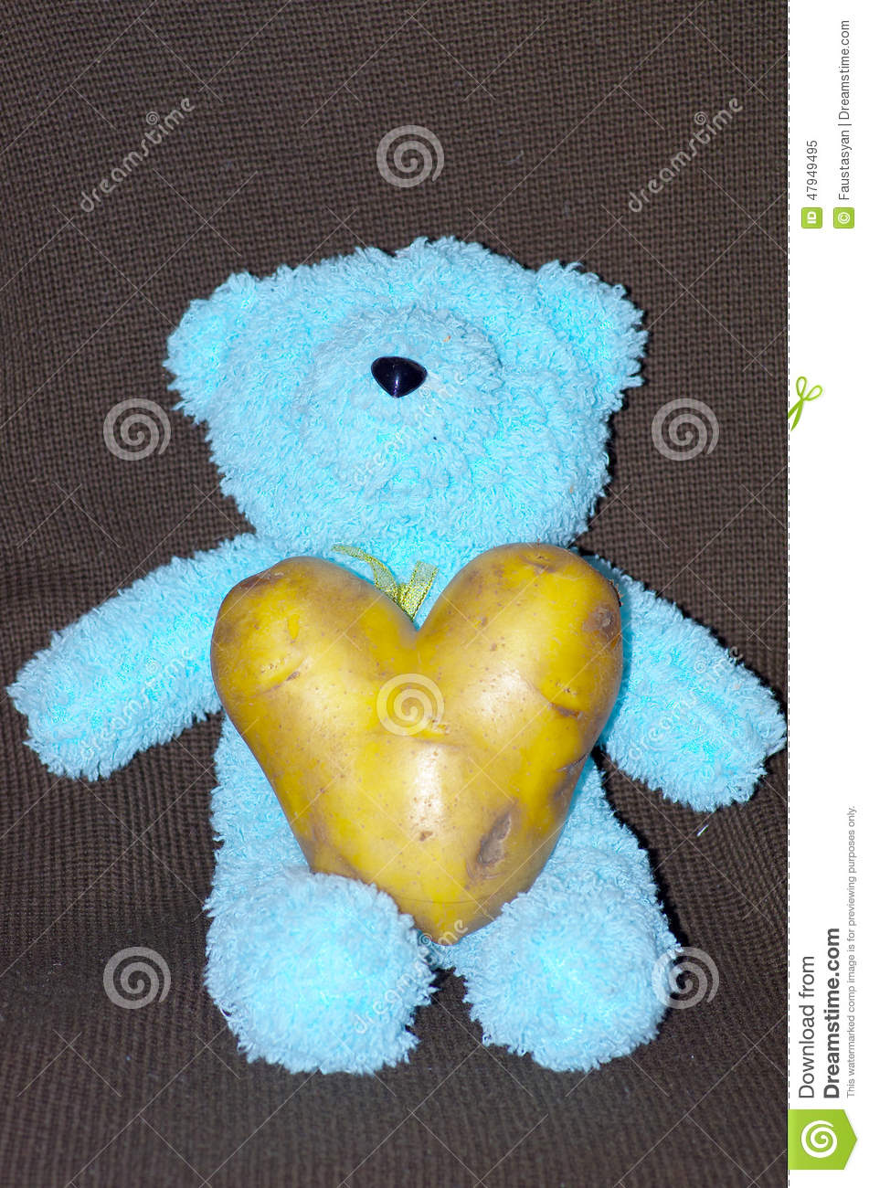 Peluche Toy With Potato