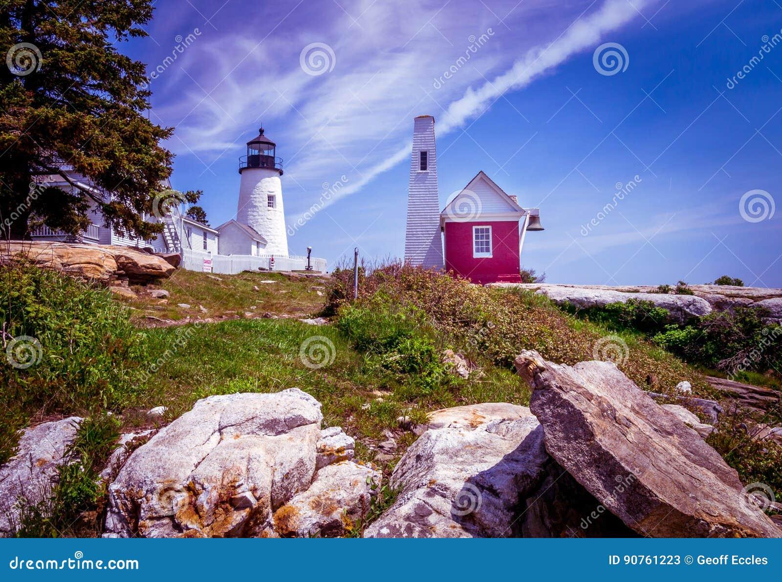 Pemaquid Punkt-Leuchtturm