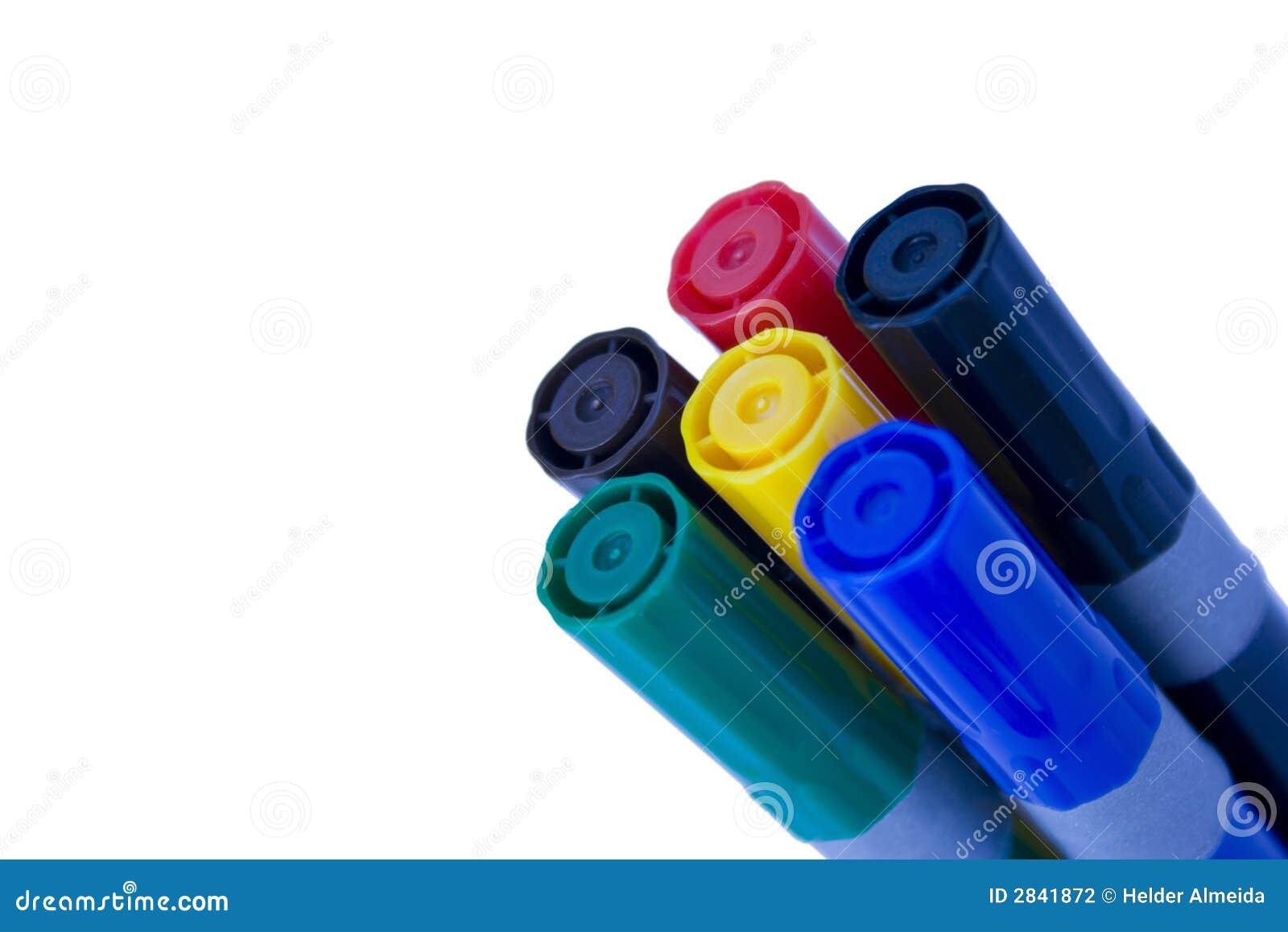 Pen 1 van de kleur