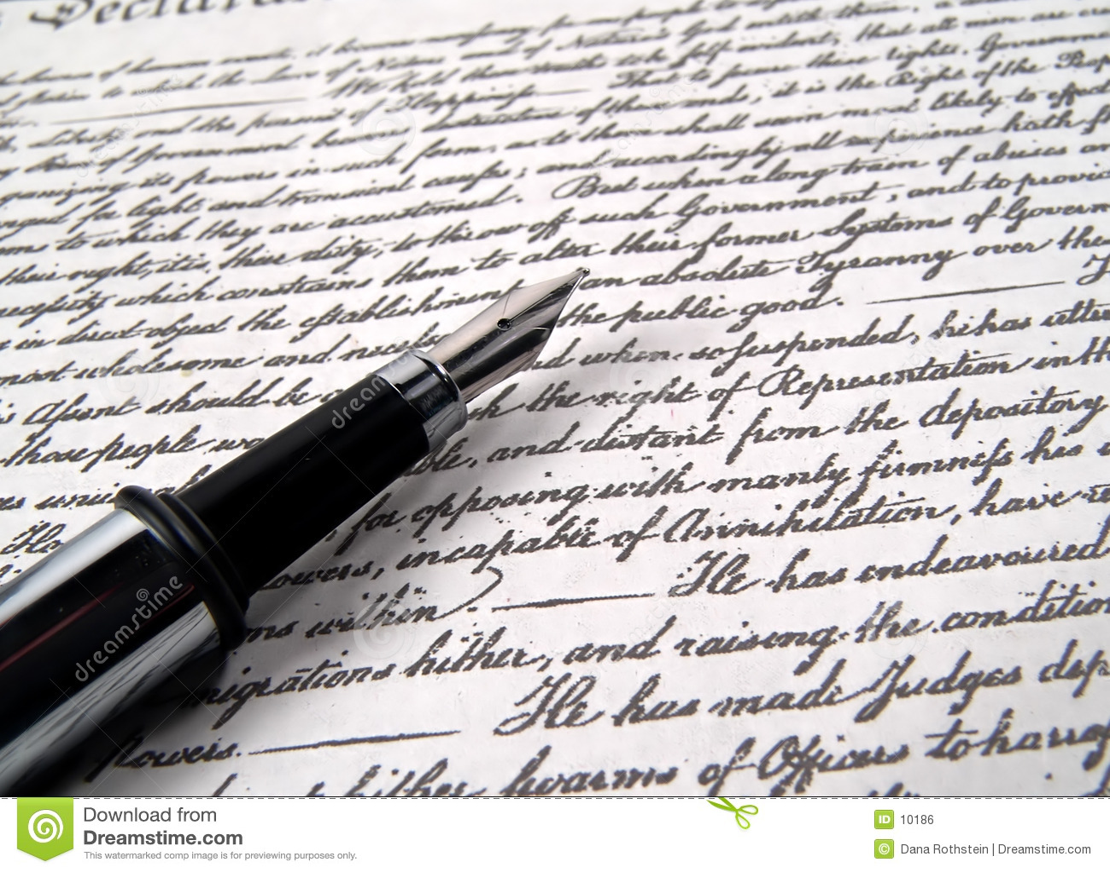 Pen 2 van de kalligrafie