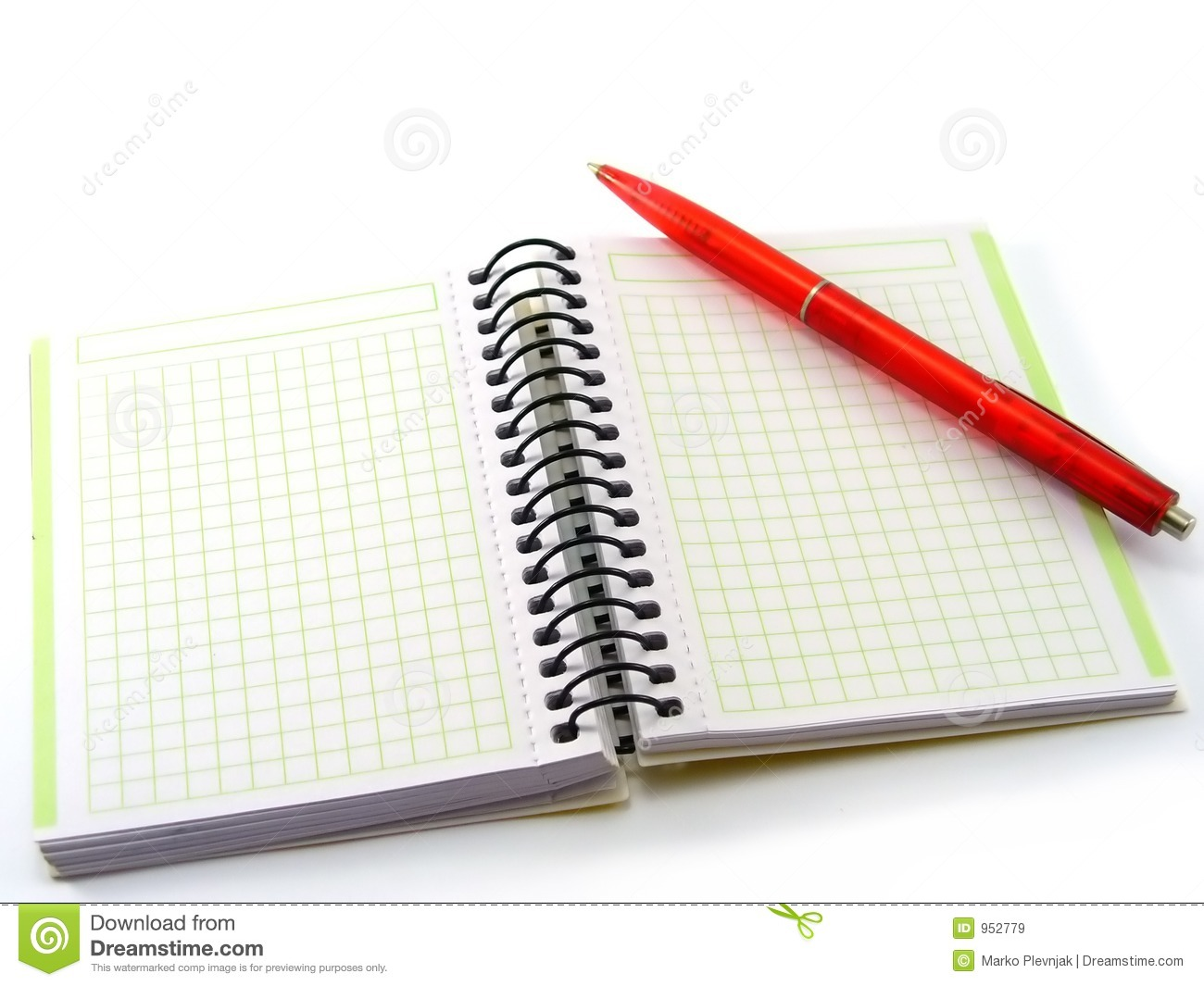 Pen And A Book Royalty Free Stock Images