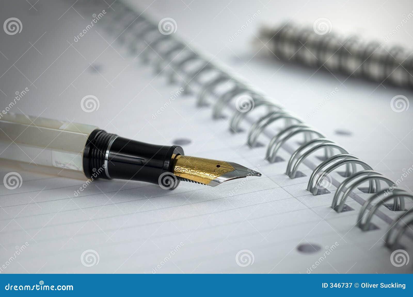 Pen en document