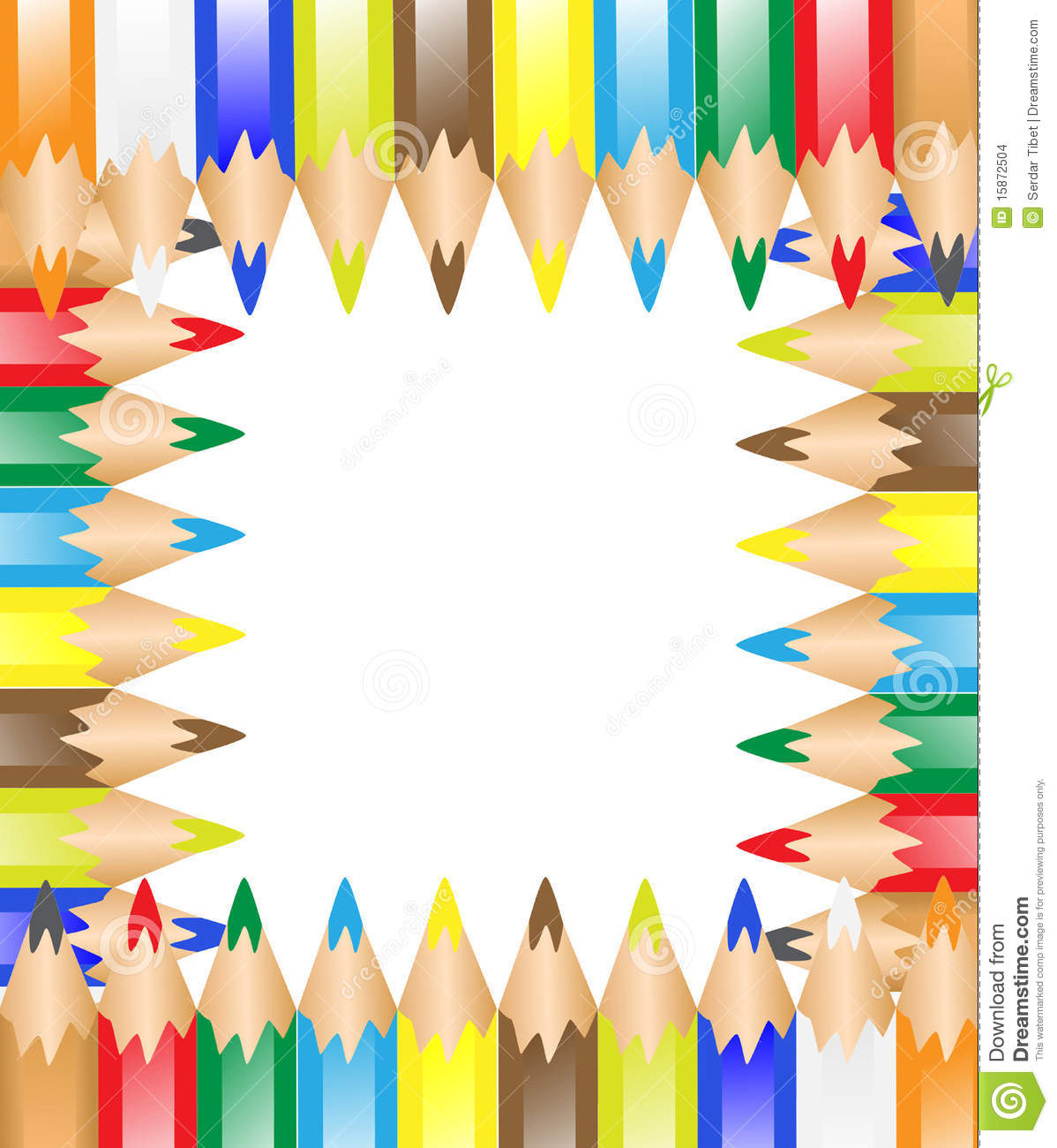 Pen Frame Stock Images Image 15872504