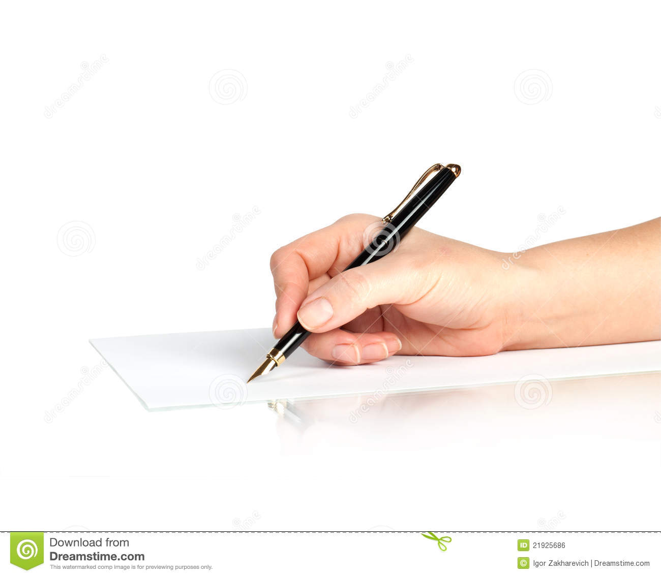a hand is writing on blank page stock photo image 40819338 pen in hand writing on the page royalty stock image