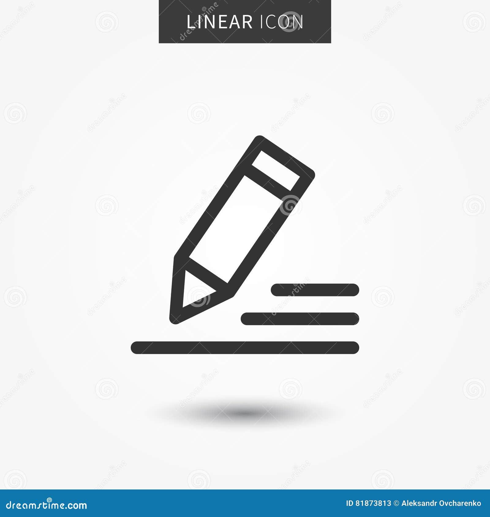 Pen icon vector illustration stock vector illustration of file pen icon vector illustration biocorpaavc Choice Image
