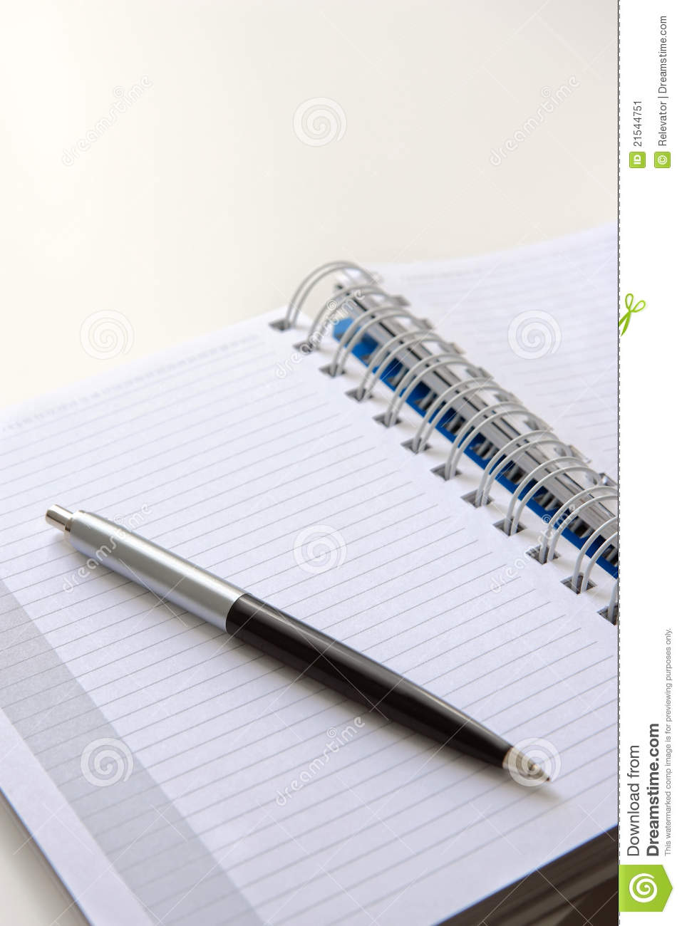 Download Pen and notebook stock image. Image of letter, sheet - 21544751
