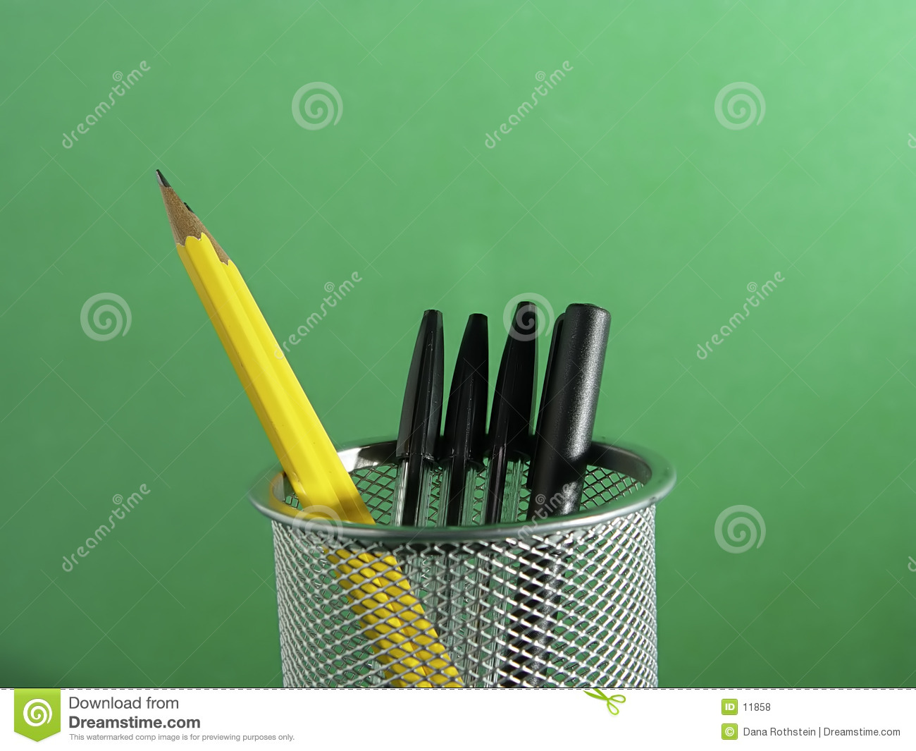 Pen and Pencil Holder 2