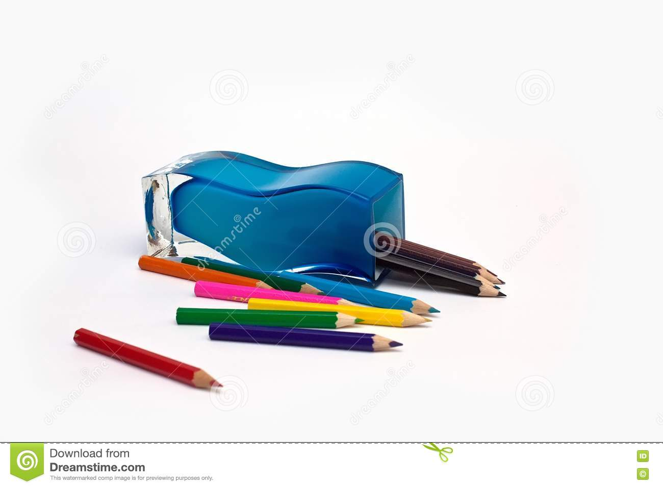 Pen And Pencil Holders Royalty Free Stock Photography ...