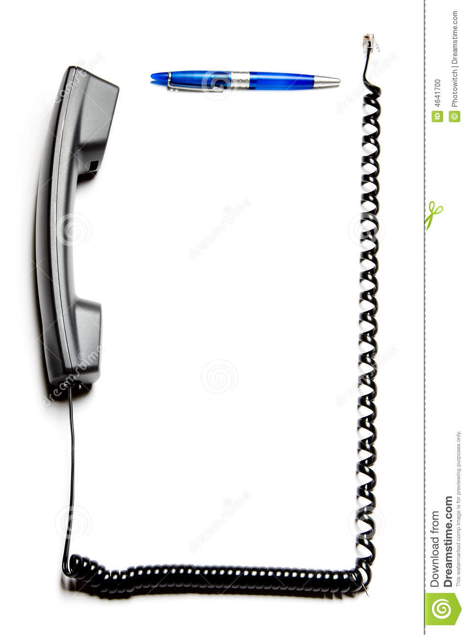 Phone cord border clipart for Html cell border
