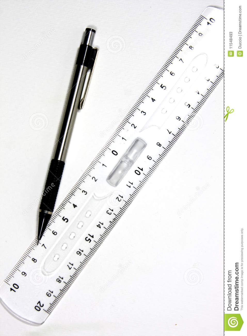 Pen And Ruler Stock Photos Image 11548493