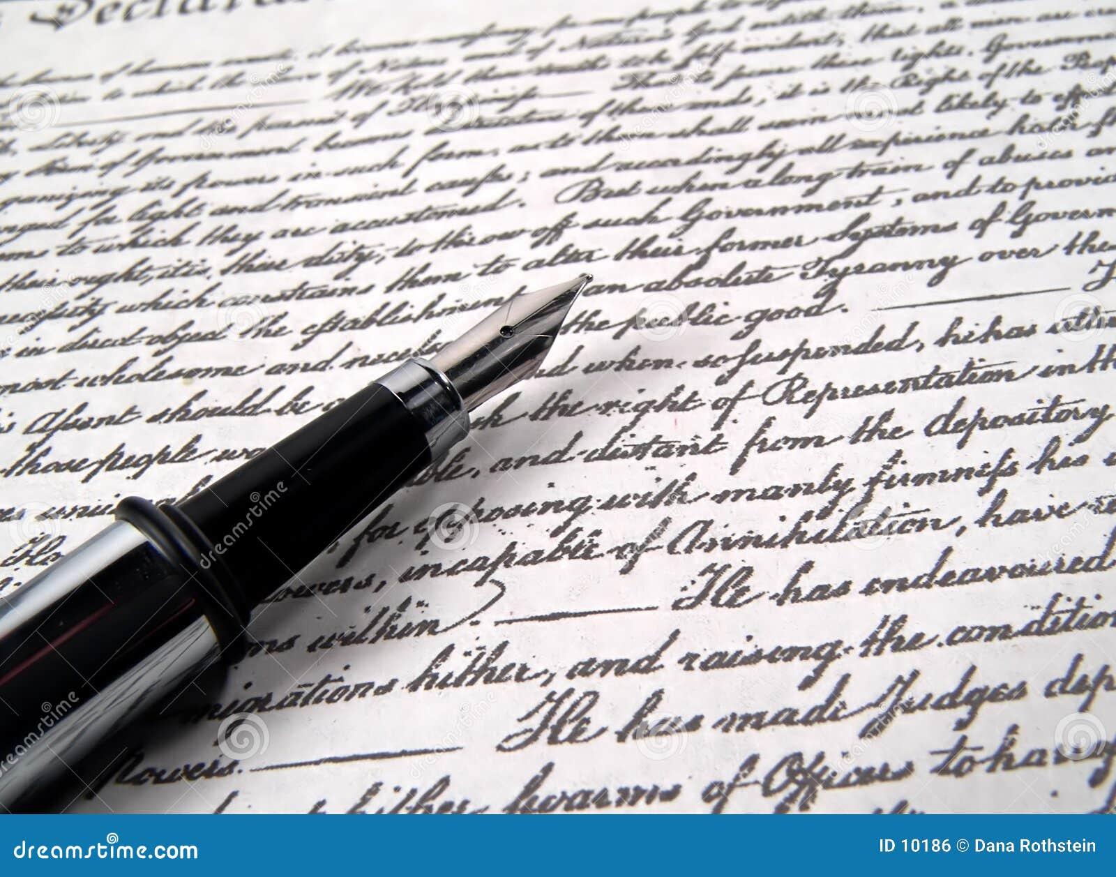 Pena 2 da caligrafia