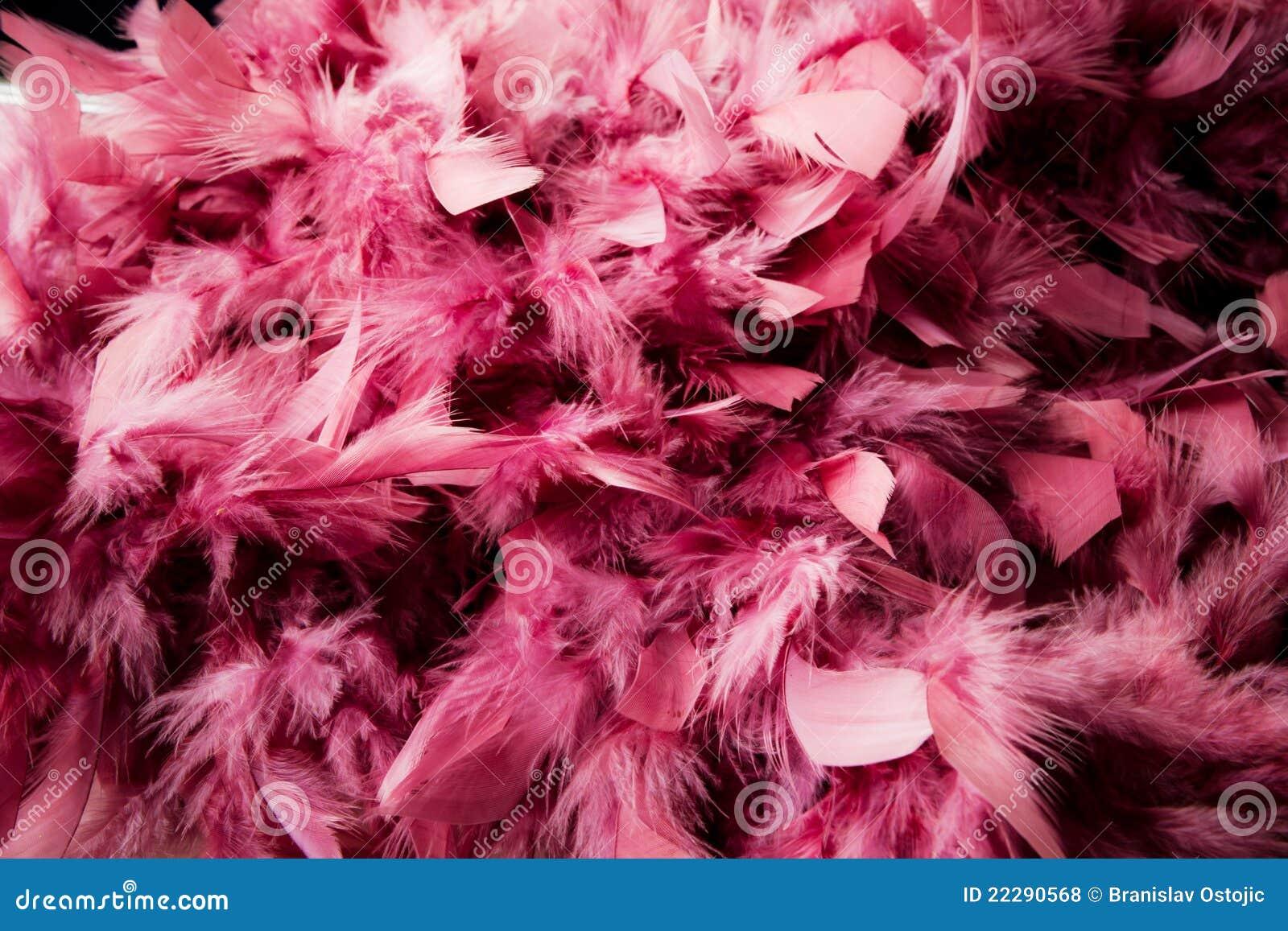 Pena cor-de-rosa