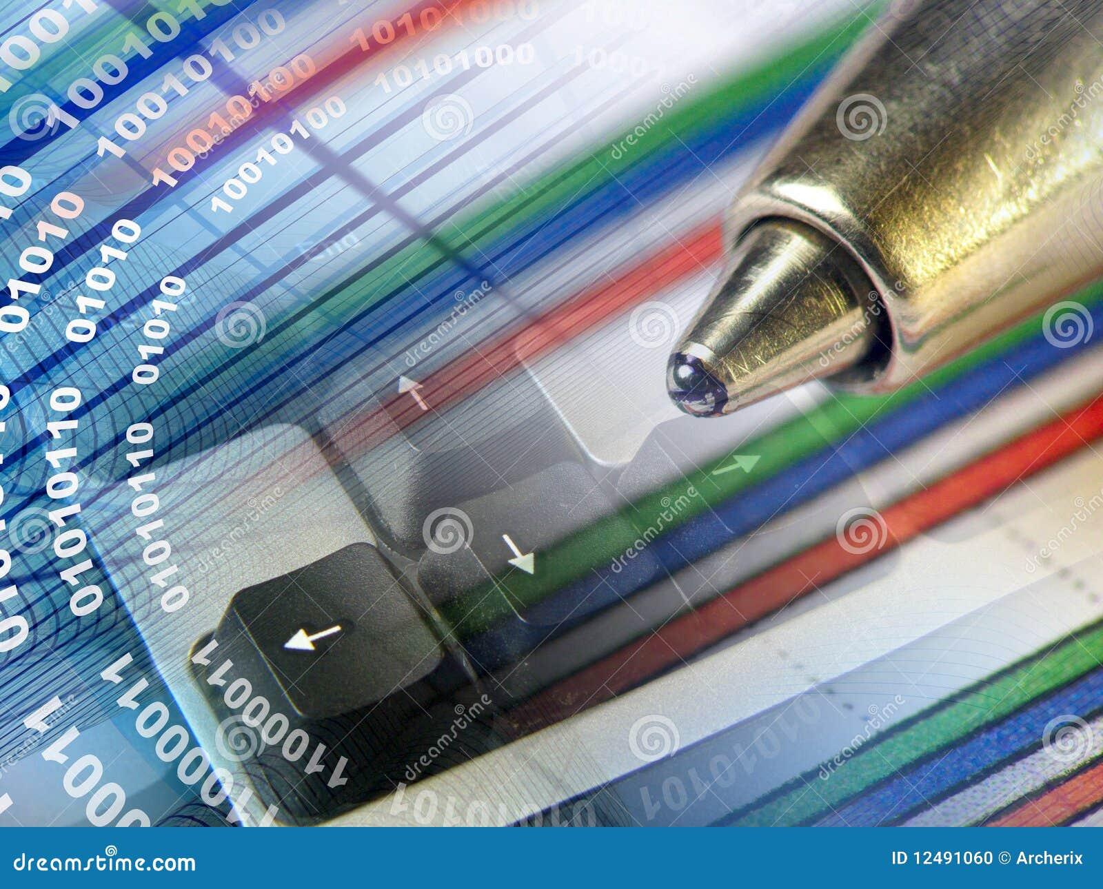 Pena, dígitos e chaves
