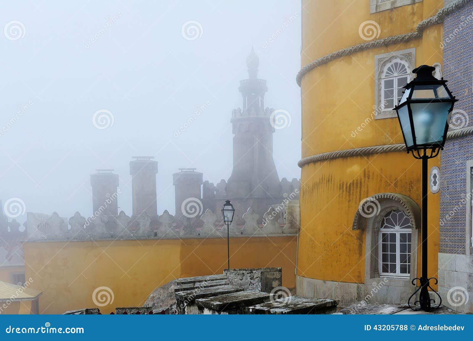 Download Pena Den Nationella Slotten, Sintra, Portugal Arkivfoto - Bild av bygger, historia: 43205788