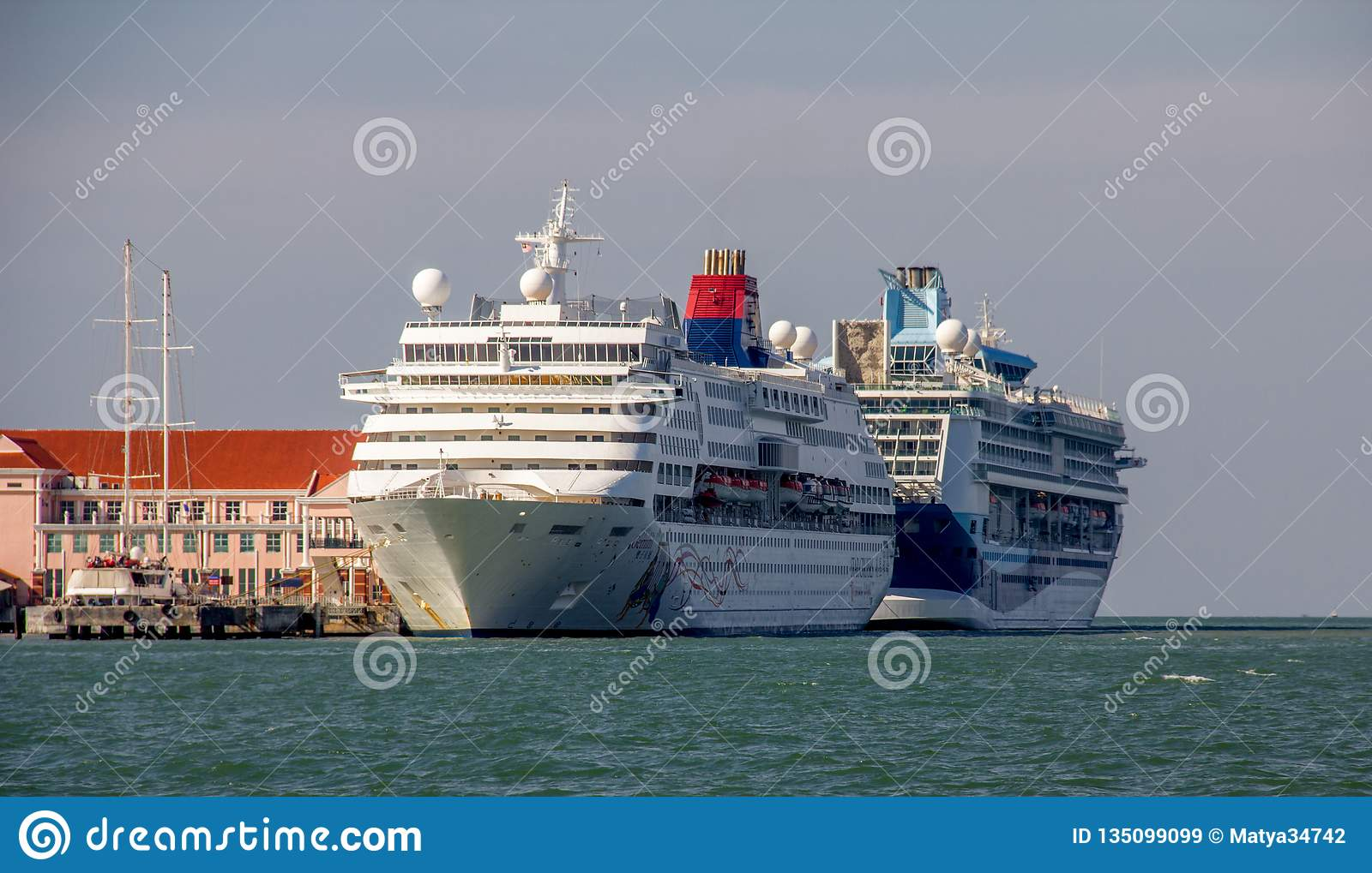 Penang Ferry At Butterworth Terminal Editorial Stock Photo