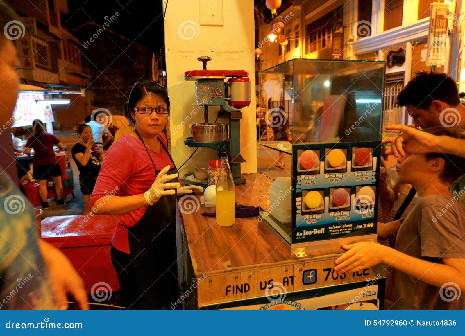 Food Market Georgetown Penang