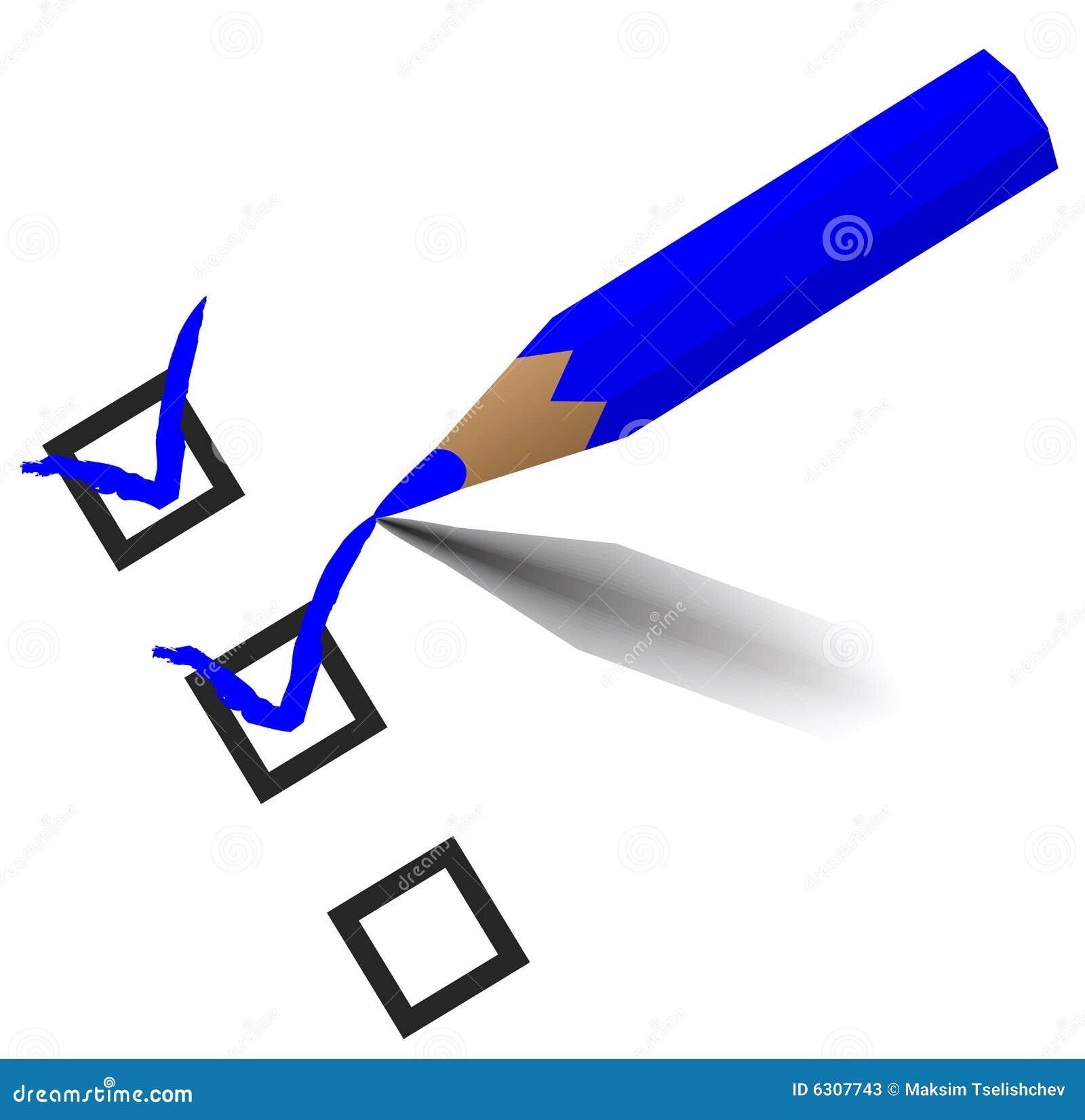 Pencil Checking Stock Photos - Image: 6307743
