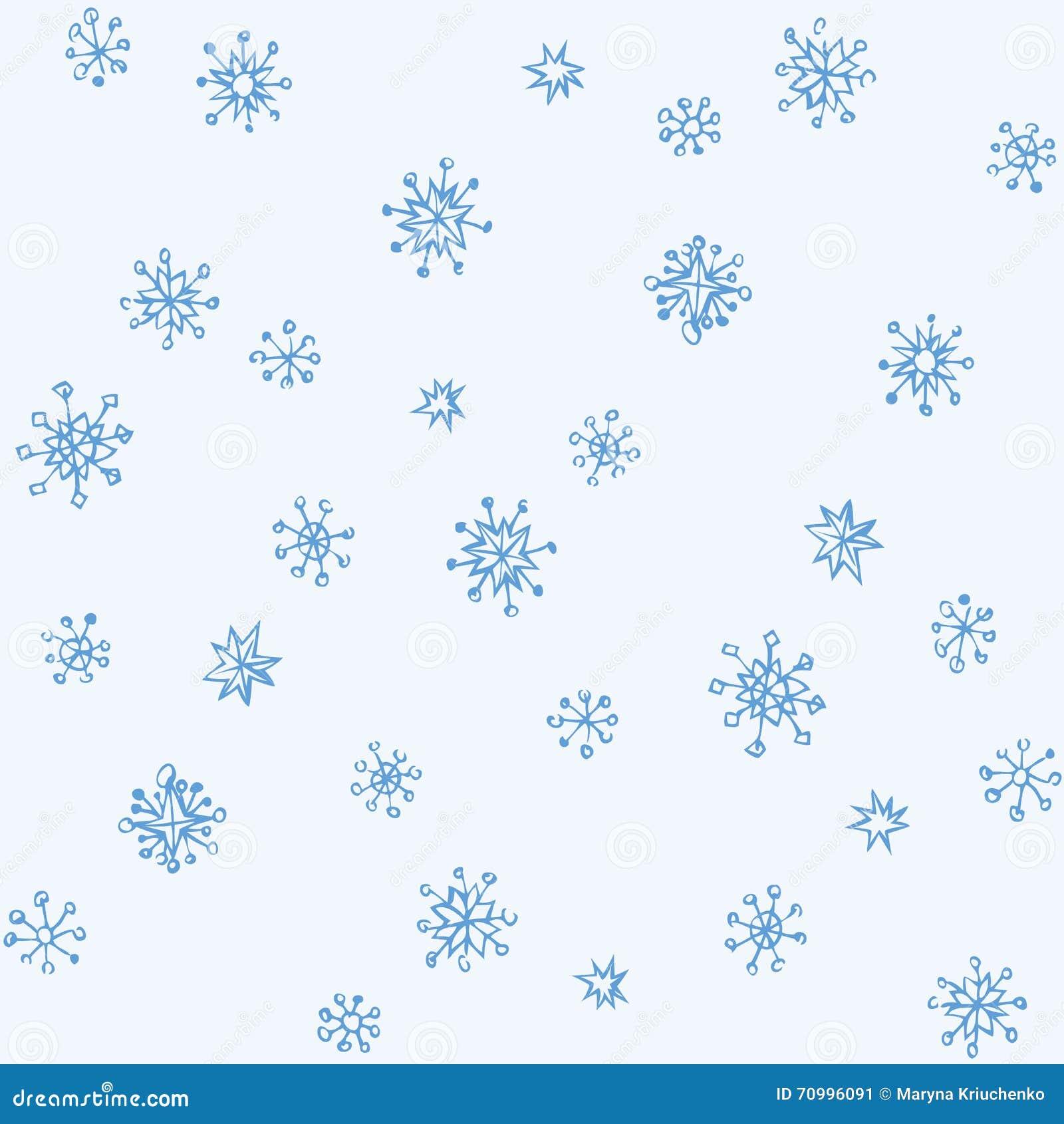 Pencil drawing snowflake sketch stock vector image 70996091 - Dessin flocon de neige simple ...