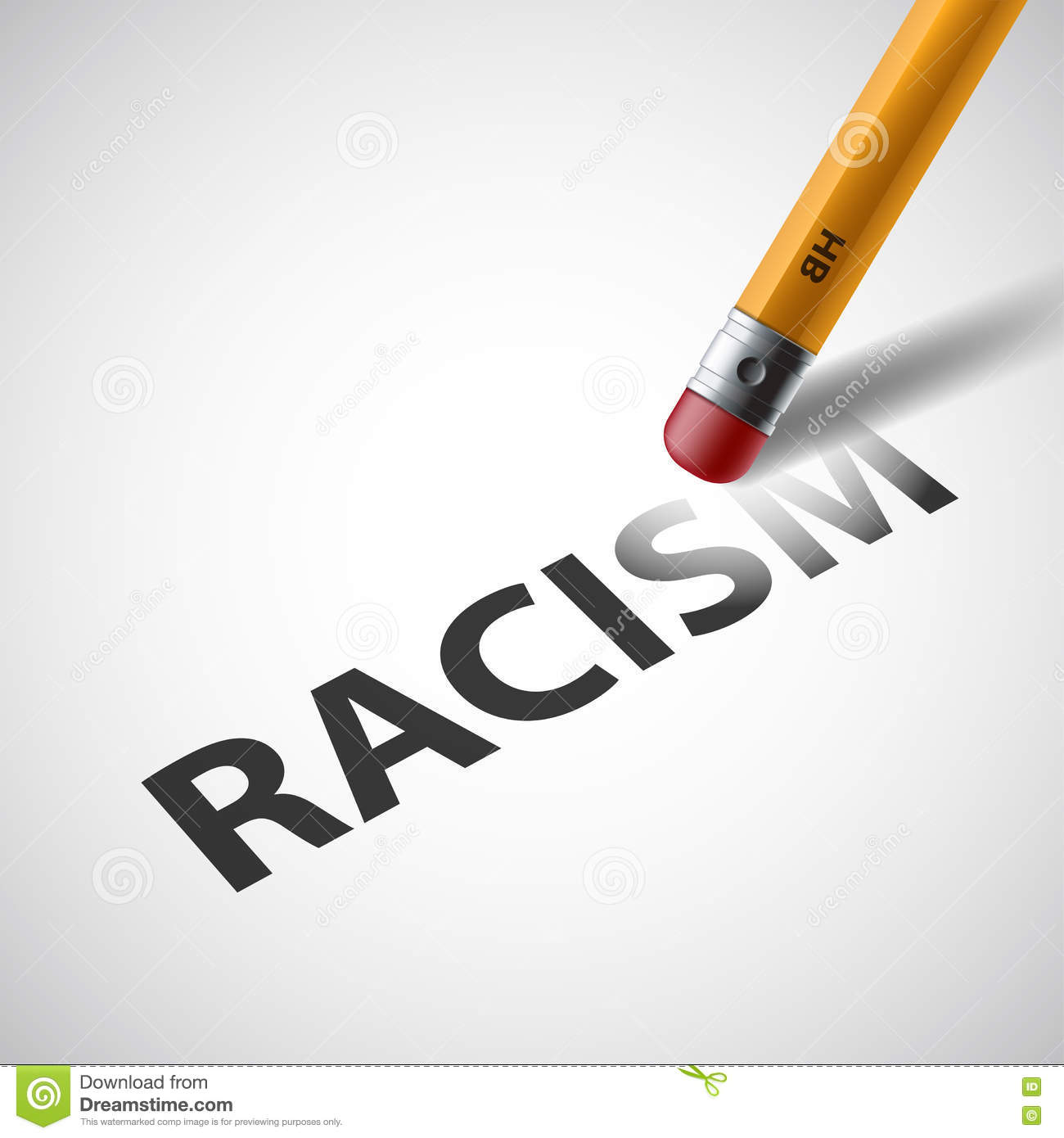 Anti racism stock illustrations 132 anti racism stock pencil erases the word racism against discrimination stock vec pencil erases the word biocorpaavc Images