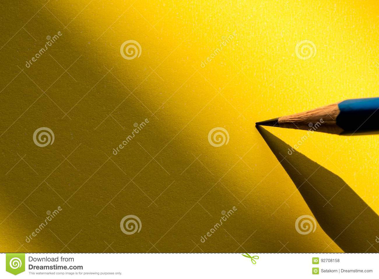 Download Pencil Holding To Write On The Paper In Shadow Stock Photo - Image of holding, shadow: 92708158
