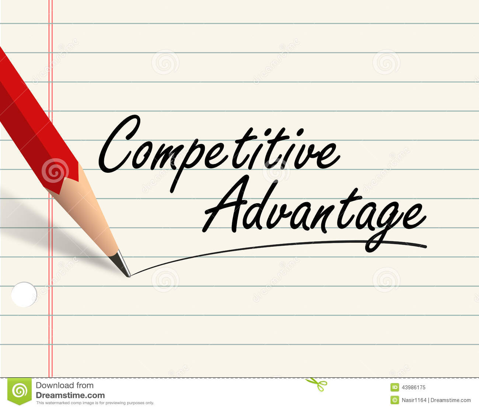 Competitive advantage essay