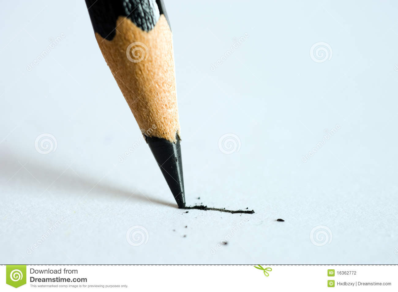 pencil writing on paper stock photo. image of education - 16362772