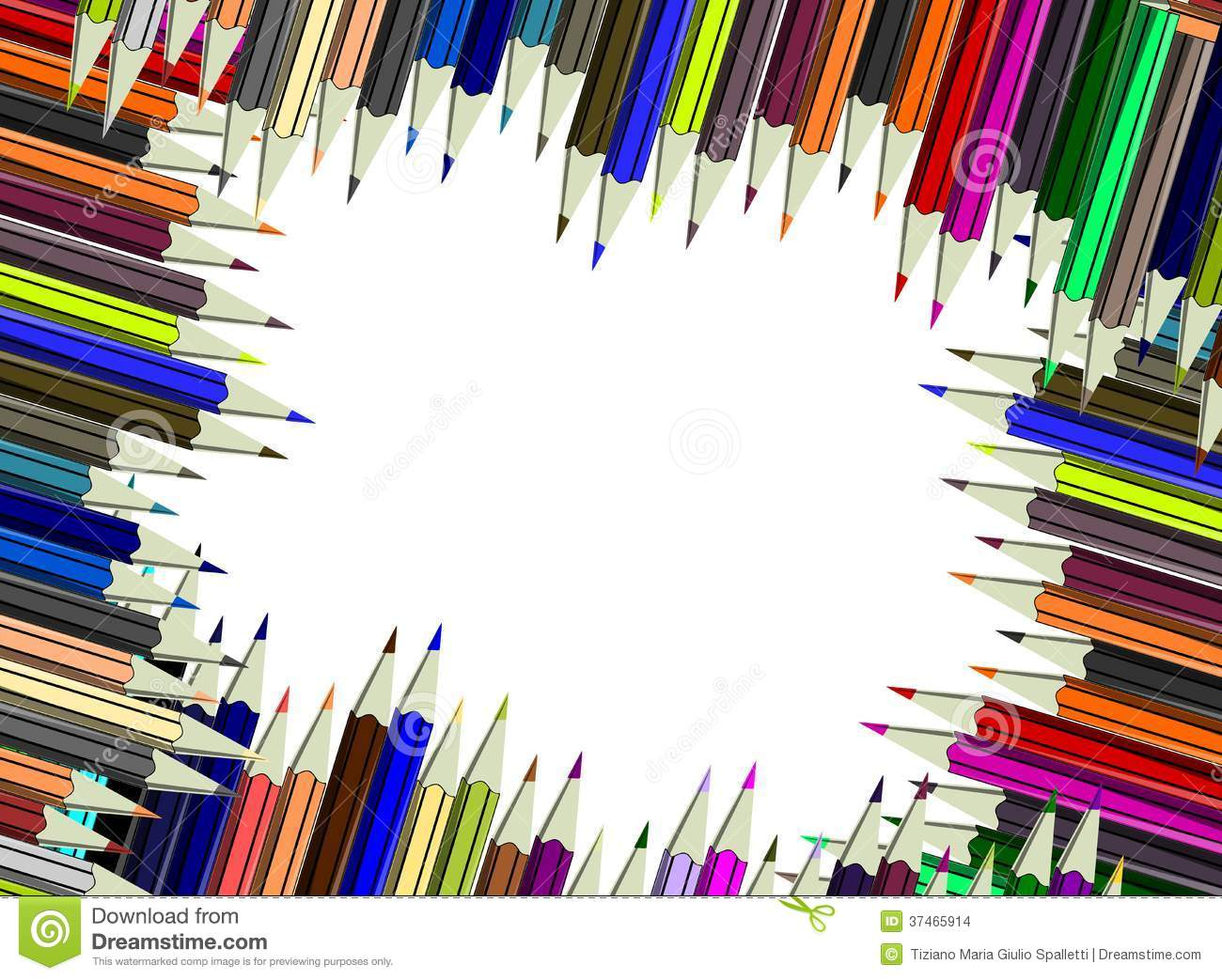 Abstract Colorful Pencils Background Stock Images Image 37465914