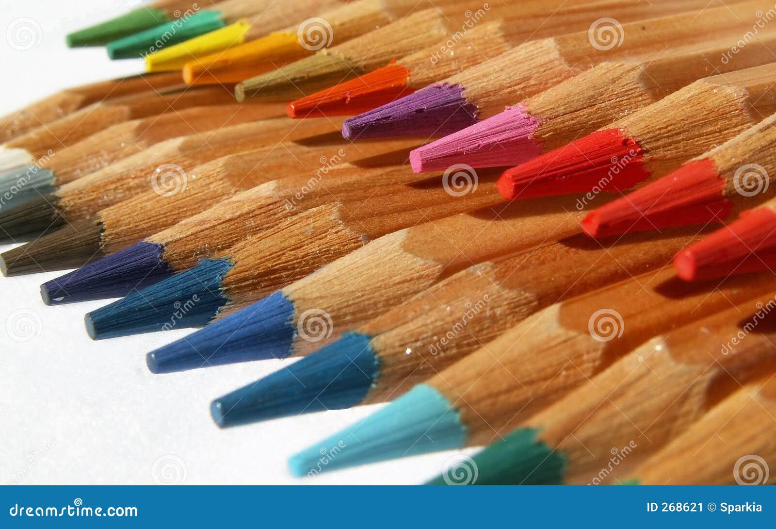 Pencils regnbågen