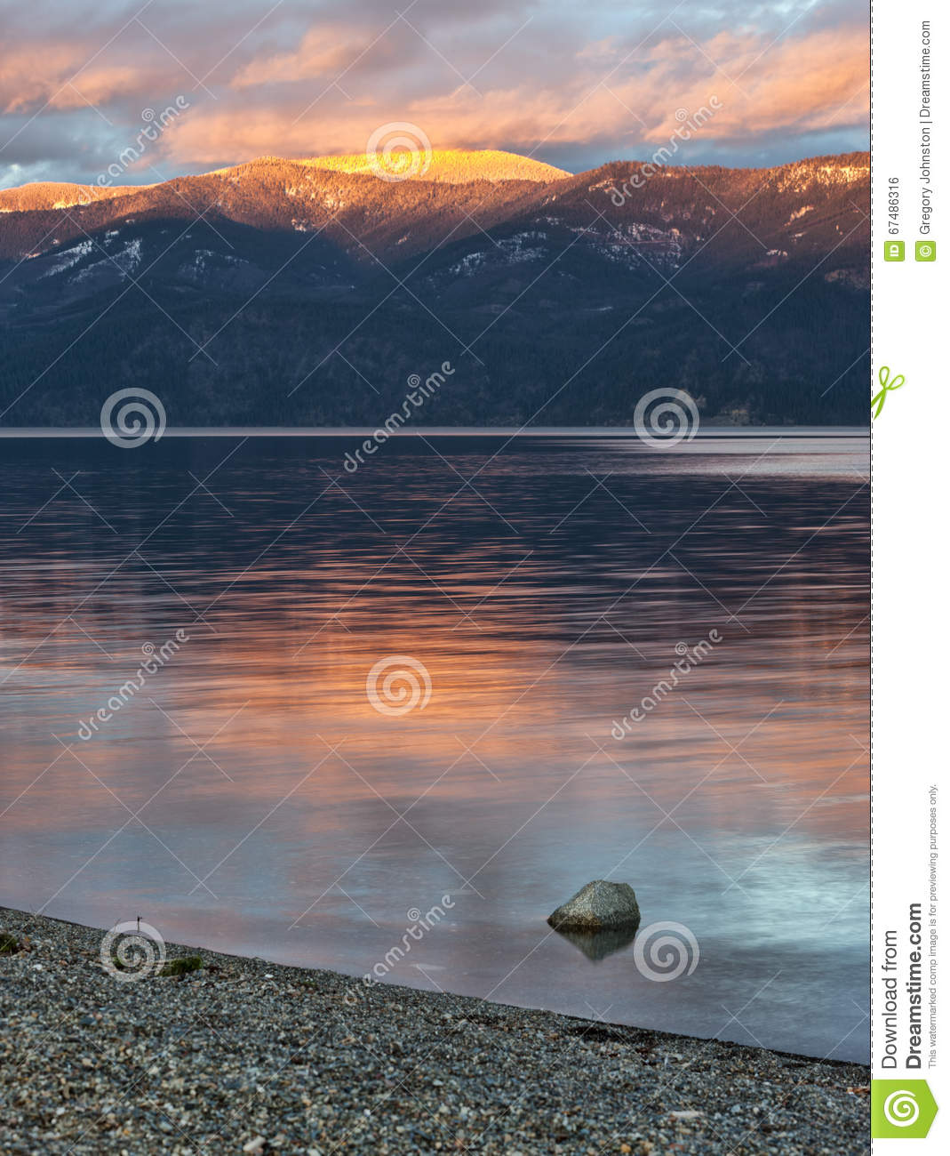 Pend Oreille See in Nord-Idaho