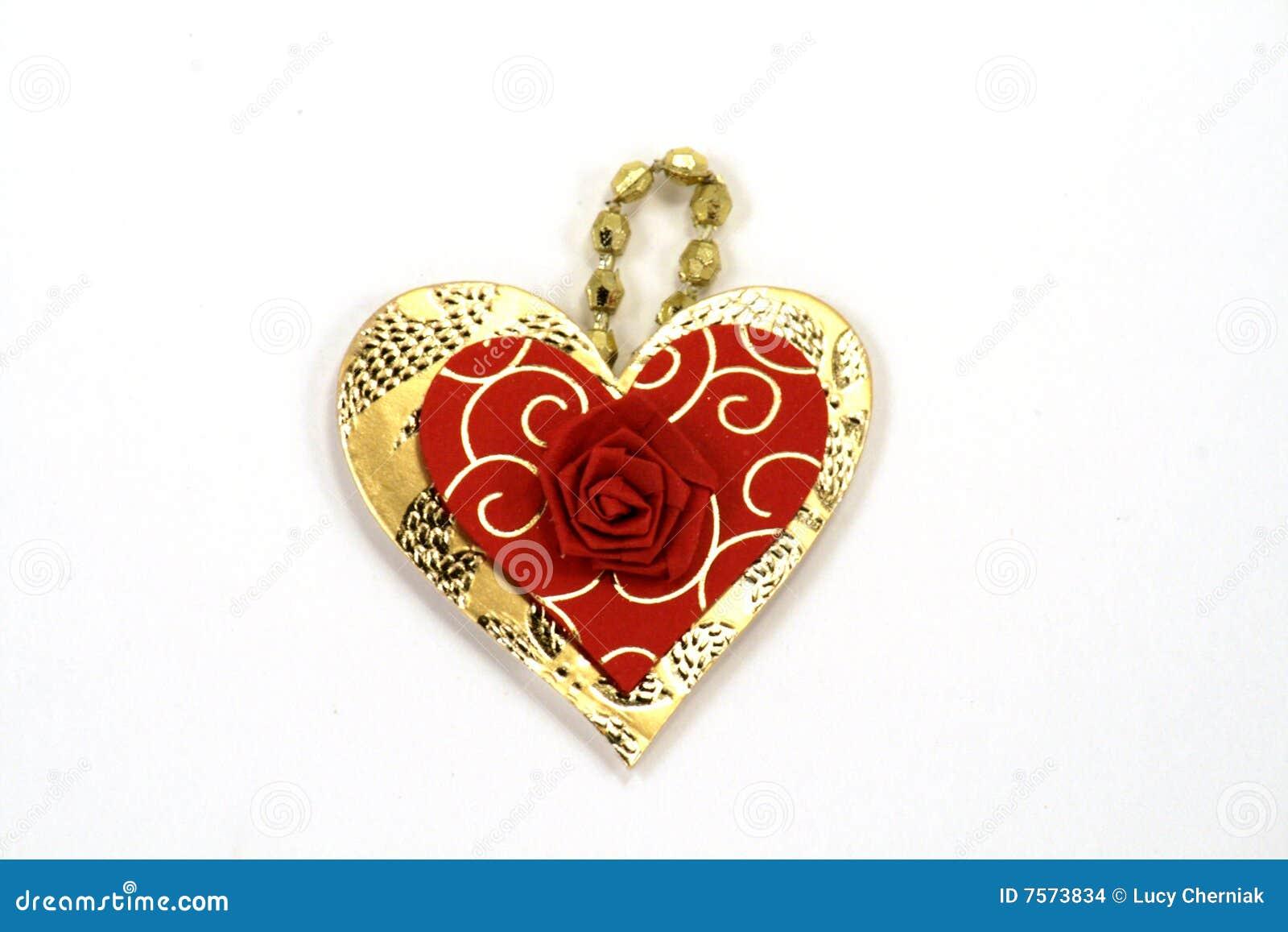 Pendente Heart-shaped