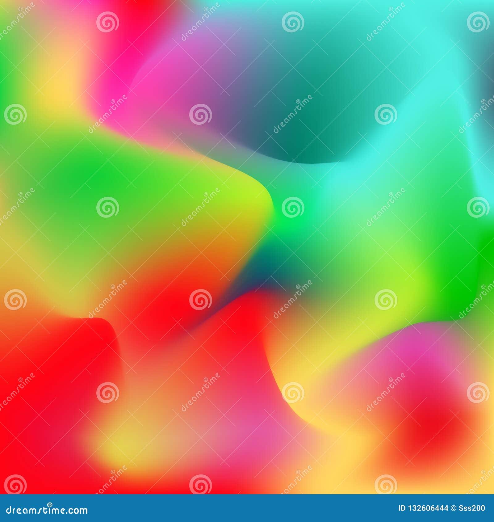 Pendientes Suaves Del Color Diseño Moderno Para La Pantalla Color