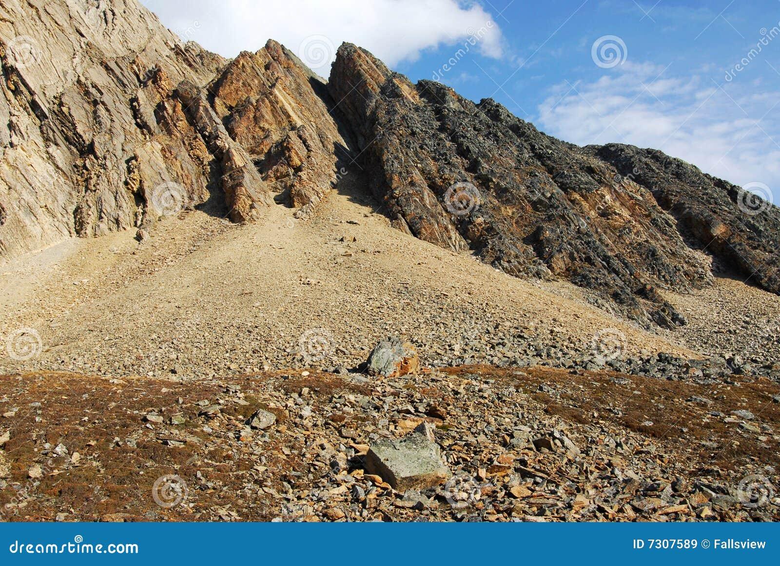 Pendio di montagna