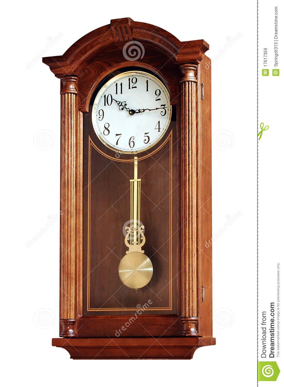 Pendulum Clock Royalty Free Stock Images Image 17617359