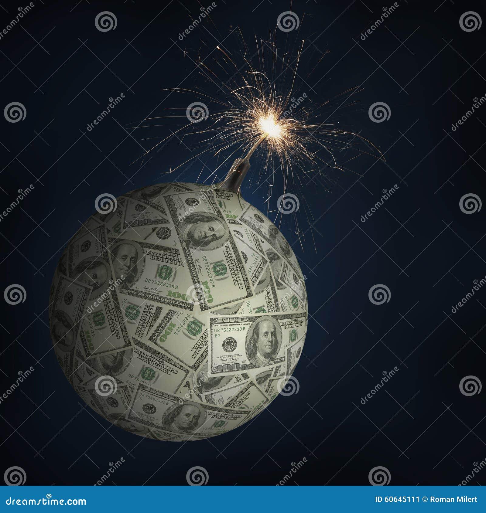 Pengar bombarderar