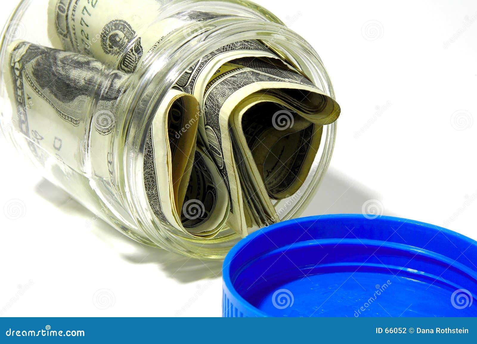 Pengar för 2 jar