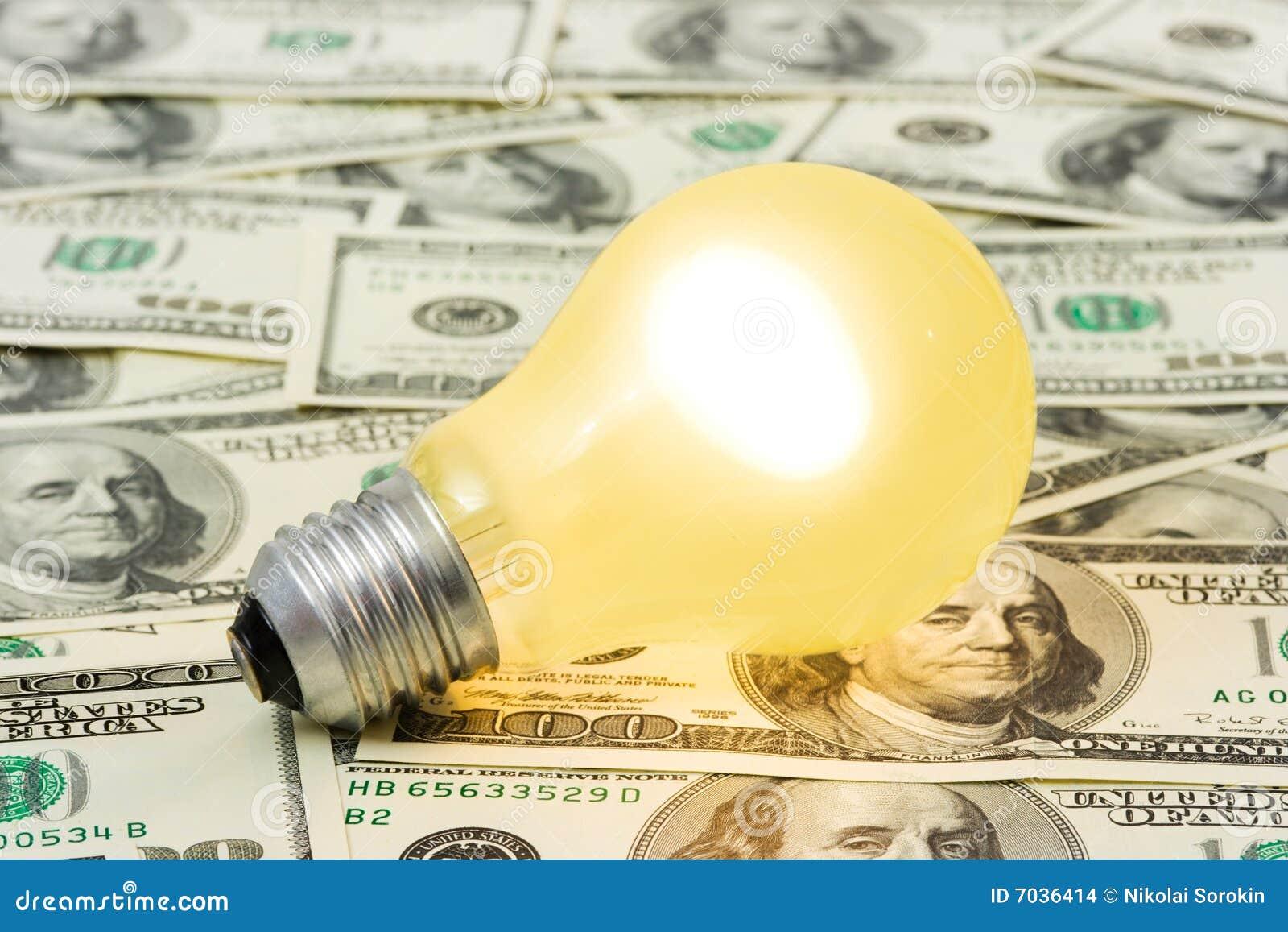 Pengar för bakgrundslamplighting